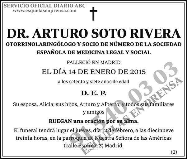 Arturo Soto Rivera